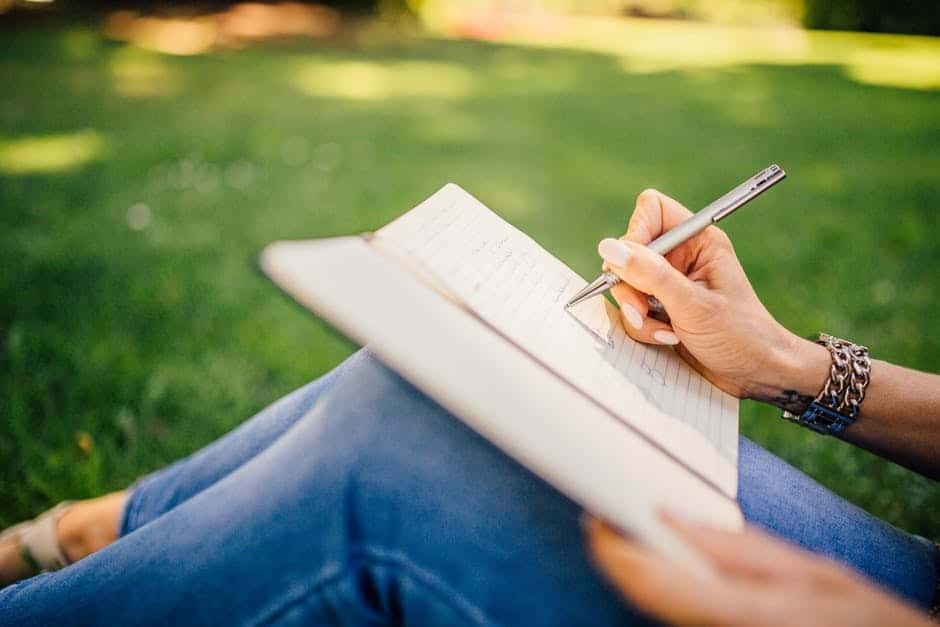 writing in an addiction recovery journal